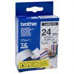 image produit Brother TZE151 Ruban 24 mm Noir/Transparent - livrable en France