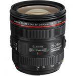 image produit Canon Objectif 24-70 mm f/4.0 L IS USM - livrable en France