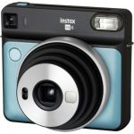 image produit Fujifilm INSTAX SQ6 AQUA BLUE Appareil photo instantané Bleu Aqua &  Film INSTAX Square WW (10X2 PK) Kit de 2 Films 10 Vues Blanc