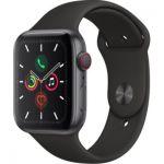 image produit AppleWatch Series5 (GPS + Cellular, 44 mm) Boîtier en Aluminium GrisSidéral - BraceletSport Noir