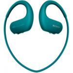 image produit Sony Walkman NW-WS413 - Lecteur MP3 Intégré à des Ecouteurs - Etanche - 4 GB - Bleu - livrable en France