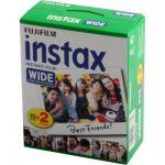 image produit Fujifilm Film - 16385995 - Instax Wide 99 x 62 mm - Compatible Appareil Instax Wide uniquement - Bipack 10 x 2 films - livrable en France