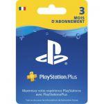 image produit PlayStation Plus Card - Abonnement 3 Mois