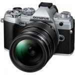 image produit Olympus OM-D E-M5 Mark III Kit, Appareil Photo Micro 4/3, (20 MP, Stabilisateur d'Image 5 Axes, AF puissant, Vidéo 4K, WLAN), Silver + Objectif 12-40mm M.Zuiko PRO
