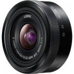 image produit Panasonic Lumix Objectif Zoom Standard pour capteur micro 4/3 12-32mm F3.5-5.6 H-FS12032E-K (Grand angle 12mm, Stabilisé, Zoom Polyvalent,  equiv. 35mm : 24-64mm)  Noir – Version Française - livrable en France