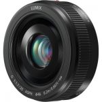 image produit Panasonic Lumix 20mm F1.7 | Objectif à focale fixe H-H020AE-K (Grand angle 20mm, Très Grande ouverture F1.7, Pancake, equiv. 35mm : 40mm) Noir – Compatible monture Micro 4/3 Panasonic & Olympus