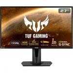 "image produit ASUS TUF Gaming VG27AQ - Ecran PC Gamer eSport 27"" WQHD - Dalle IPS - 16:9 - 165Hz - 1ms - 2560x1440 - Display Port & 2x HDMI - Haut-parleurs - Nvidia G-Sync - AMD FreeSync - ELMB - HDR 10"