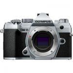 image produit Olympus OM-D E-M5 Mark III Silver Appareil Photo Micro 4/3, capteur 20 MP, stabilisateur d'image 5 axes, AF puissant, viseur électronique OLED, vidéo 4K, WLAN, Bluetooth - livrable en France
