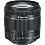 image produit Canon EF-S 18-55mm f/4-5,6 IS STM Objectif Noir