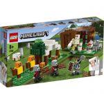 image produit LEGO Minecraft L'avant-poste des pillards Figurines, Ensemble de construction, Golem de fer, Jouet pour enfants de 7 ans et plus, 111 pièces, 21159 - livrable en France