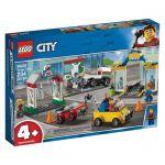 image produit LEGO®-City Le garage central Enfant de 4 Ans et Plus, Jouet de Construction, 234 Pièces 60232 - livrable en France