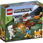image produit LEGO 21162 Minecraft Aventures dans la taïga Ensemble de construction avec figurines Steve, Wolf et Fox, Jouets pour enfants de 7 ans et plus - livrable en France