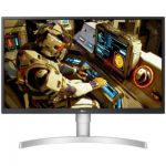 image produit LG UltraFine 27UL550-W, Moniteur IPS UHD 4K 27'' (3840x2160, 5ms, sRGB 98%, HDMI, Display Port, HDR, FreeSync, Ajustable Hauteur, Pivotable) - livrable en France