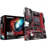 Carte mère Gigabyte B450M Gaming - Micro ATX, Socket AM4 - livrable en France