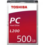 "image produit Toshiba L200 500 Go Disques internes 6,4 cm (2,5"") SATA"