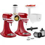 image produit KitchenAid 5KSM2FPPC Lot d'accessoires hachoire, tranchoire et rape robot pâtissier multifonction, Acier