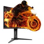 image produit AOC C32G1, 80,01 cm (31,5 Pouces), Moniteur de Jeu 144 Hz, FreeSync, VA - DP, HDMI Noir - livrable en France
