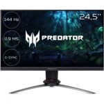 "image produit Ecran PC 24.5"" Acer Predator XB253QGPbmiiprzx - Full HD, Dalle IPS, 144 Hz, 0.9ms, FreeSync, Compatible G-Sync"