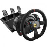 image produit Thrustmaster T300 Ferrari Integral Racing Wheel Alcantara Edition Pack Collector Intégral Compatible PC/PS4 Noir