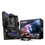image produit MSI MPG Z490 Gaming Carbon WiFi, Intel Z490 Mainboard - Sockel 1 - livrable en France