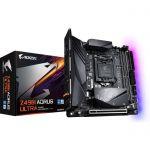 image produit Gigabyte Z490I Aorus Ultra, Intel Z490 Mainboard - Sockel 1200 - livrable en France