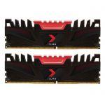 image produit Kit Mémoire DDR4 PNY XLR8 32 Go (2 x 16 Go) - 3200 MHz, CAS 16 (MD32GK2D4320016XR)