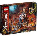 image produit LEGO-Le Donjon du Sorcier au Crâne Ninjago Jeux de Construction, 71722, Multicolore - livrable en France