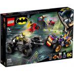 image produit LEGO-La Poursuite du Joker en Moto à 3 Roues DC Comics Super Heroes Jeux de Construction, 76159, Multicolore