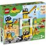 image produit LEGO-La Grue et Les engins de Construction Duplo Jeux, 10933, Multicolore - livrable en France