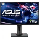 "image produit ASUS VG258QR - Ecran PC gaming eSport 24,5"" FHD - Dalle TN - 16:9 - 165Hz - 0,5ms - 1920x1080 - 400cd/m² - Display Port, HDMI et DVI - Haut-parleurs - Nvidia G-Sync - AMD FreeSync - livrable en France"
