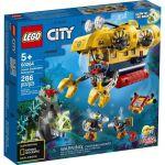 image produit LEGO-Le sous-Marin d'exploration City Jeux de Construction, 60264, Multicolore - livrable en France