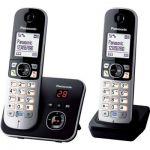 image produit Panasonic KX-TG6822 Téléphones Sans fil Répondeur Ecran [Version Française]