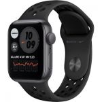 image produit Apple Watch Nike Series 6 GPS, 44mm boitier aluminium gris sidéral avec bracelet sport anthracite