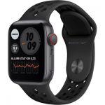 image produit Apple Watch Nike Series 6 GPS + Cellular, 40mm boitier Aluminium gris sidéral avec Bracelet Sport Anthracite