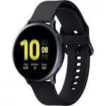 image produit Samsung - Galaxy Watch Active 2, Montre connectée Version Aluminium 4G - Noir Carbonne
