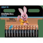 image produit Duracell Ultra, pack de 12 piles alcalines Type AAA 1,5 Volts LR03 MN2400 - livrable en France