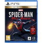 image produit Sony, Marvel's Spider-Man : Miles Morales sur PS5, Jeu d'action et d'aventure, Ultimate Edition, Version physique, En français, 1 joueur