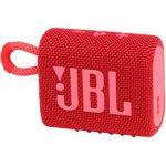image produit JBL GO 3 – Enceinte Bluetooth portable et légère, aux basses intenses et au style audacieux – Étanche à l'eau et à la poussière – Autonomie 5 hrs – Rouge - livrable en France