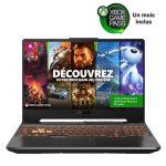 image produit PC Portable Gamer ASUS A15-TUF506II-HN372T - 15''FHD 144Hz - AMD Ryzen R5-4600H - RAM 8 Go - GTX 1650 4Go - Stockage 256Go SSD - W10