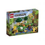 image produit LEGO 21165 Minecraft le Village des Abeilles Set de Construction avec Figurines d'Apiculteur et de Mouton, Jouets 8+ pour Garçons et Filles - livrable en France