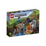 image produit LEGO 21166 Minecraft le Jeu de Construction de la Mine Abandonnée, la Grotte des Zombies avec la Vase, les Figurines de Steve et d'Araignées - livrable en France