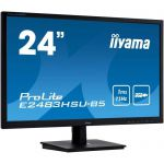 "image produit Iiyama Prolite E2483HSU-B5 Ecran LED 23,8"" TN Full HD 1 ms VGA/DP/HDMI Hub USB Multimedia Noir - livrable en France"