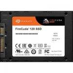 """image produit Seagate FireCuda 120 500 Go, SSD interne hautes performances, 2.5"""" et services Rescue valables 3 ans (ZA500GM1A001) - livrable en France"""