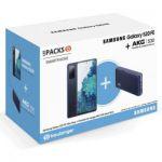 """image produit Pack Smartphone 6.5"""" Samsung Galaxy S20 FE 4G + Enceinte Bluetooth AKG S30 (Via 100€ de remise pour la reprise d'un smartphone)"""