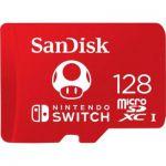 image produit SanDisk Carte microSDXC UHS-I pour Nintendo Switch 128 Go - Produit sous licence Nintendo - livrable en France