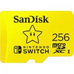 image produit SanDisk Carte Nintendo Switch 256 Go + Just Dance 21 - livrable en France