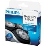 image produit PHILIPS SH30/50 - Accessoires rasoir Series 1000 et 3000 -  3 têtes de rasage