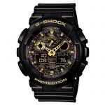 image produit Casio G-SHOCK Homme Analogique-Digital Quartz Montre avec Bracelet en Résine GA-100CF-1A9ER