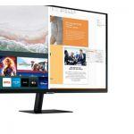 image produit Ecran  Samsung 27 pouces - Smart Monitor M5 S27AM500NR  (Full HD, HDR10) - Noir