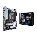image produit ASUS Prime X299-A II – Carte mère (Intel ATX LGA 2066 , CPU Intel Core X, Overclocking avec IA, mémoire DDR4 4266 MHz, Triple M.2, USB 3.2 Gén.2 Type-C et Aura Sync RGB) - livrable en France